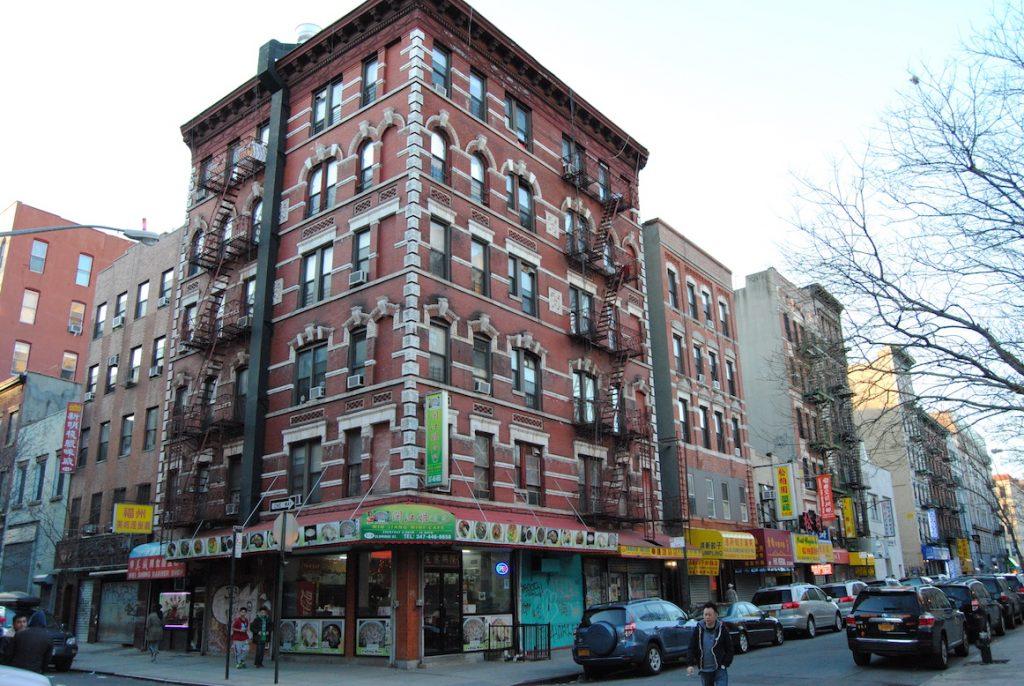 Dzielnica chińska w Nowym Jorku.