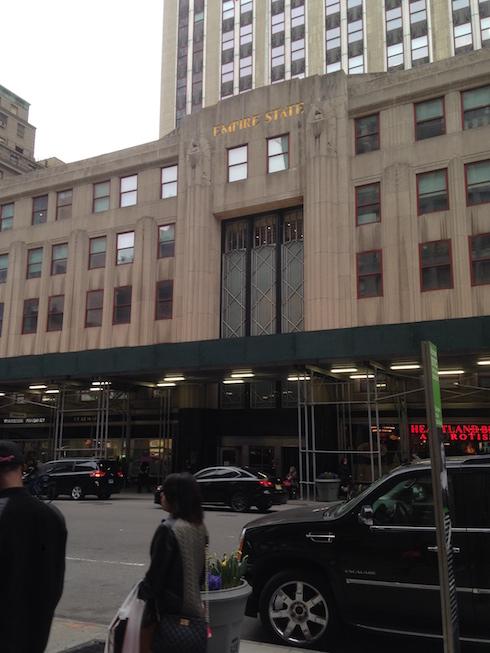 Wejście do Empire State Building