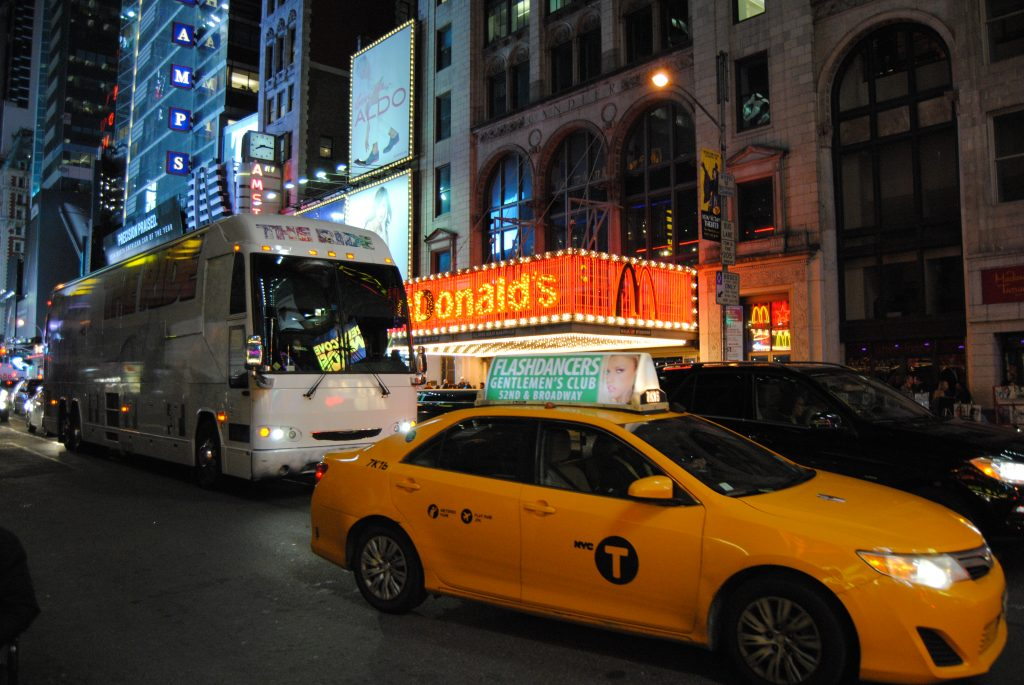McDonald's w okolicy Times Square.