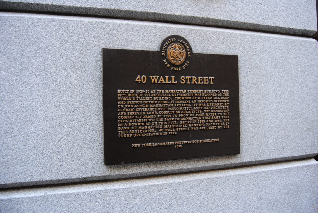 40 Wall Street