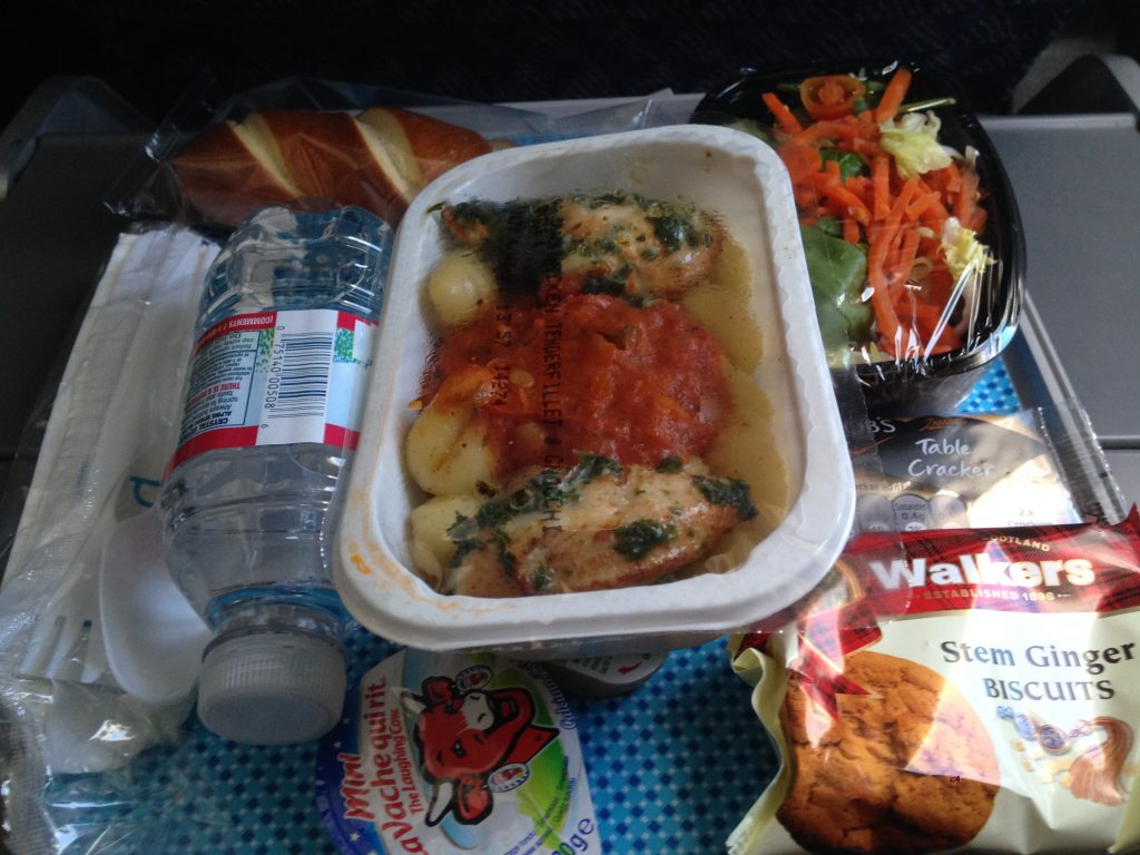Jedzenie w American Airlines