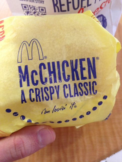 Przerwa w McDonaldzie