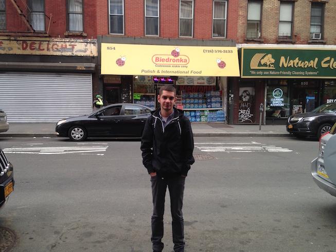 Biedronka w Nowym Jorku
