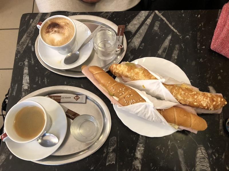 Śniadanie w wiedeńskiej piekarni