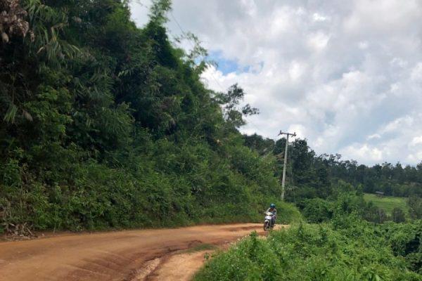 Droga do rezerwatu słoni w Chiang Mai
