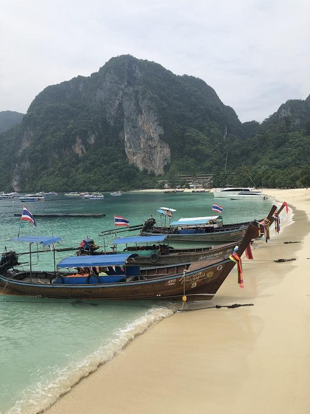 Łódki na Phi Phi