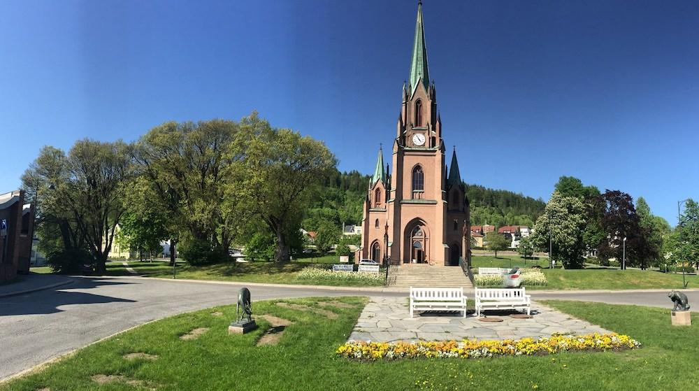 Kościół Bragernes w Drammen