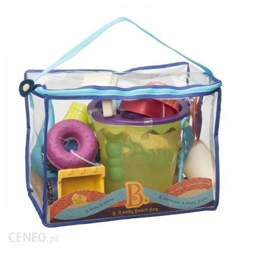 Akcesoria Plażowe W Niebieskiej Torbie Toys Ready Beach Bag