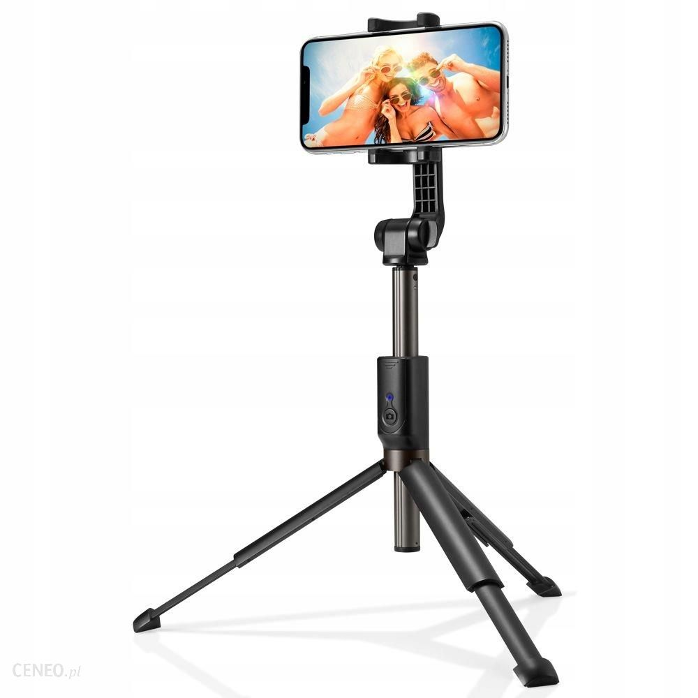 Spigen S540W Wireless Selfie Stick Tripod Black